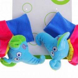 κάλτσες ελέφαντες κουδουνίστρες