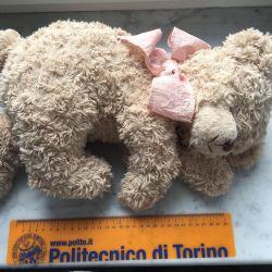 Фирменная Мягкая игрушка медвежонок settler bears