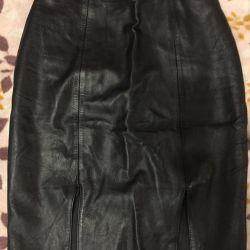 Δερμάτινη φούστα 40-42r, Παντελόνια-χαμαιλέων 42-44r