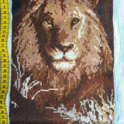 Embroidery lion