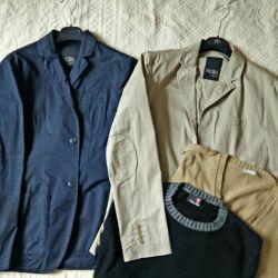 Men's clothing. I'm taking a wardrobe. Italy