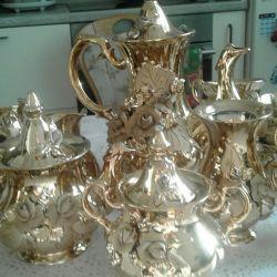 Ceai și cafea de servicii de 17 elemente