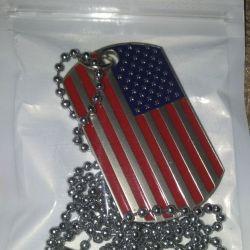 Κρεμαστό με αμερικανική σημαία