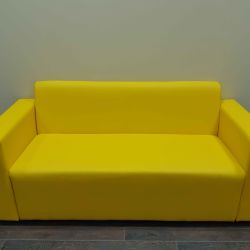 New sofa, leatherette