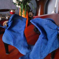 Cizme albastre
