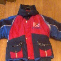 winter jacket on sintepon