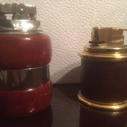 Tabletop gas lighters