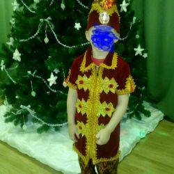 New Year's costume