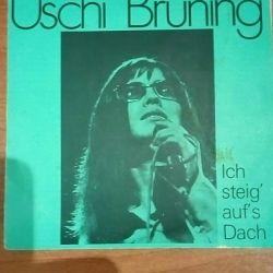 Vinyl record Uschi Bruning.