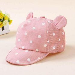 Νέο καπάκι με αυτιά για ένα κορίτσι 1-2 χρόνια