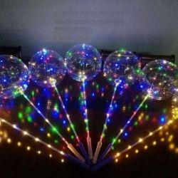 Воздушный шар со светодиодной подсветкой(многоразо