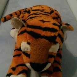 Tiger cub μαλακό παιχνίδι για τα μικρά παιδιά
