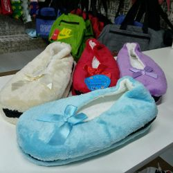 Slippers are female