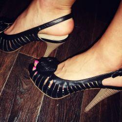 New sandals p.37 (black summer shoes)