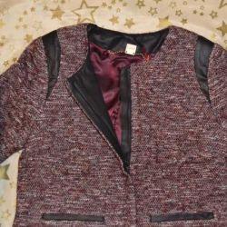 Ceket / ceket ölçüleri S Yeni fermuarlı