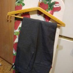 Новые мужские классические брюки   44-46