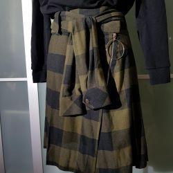 Skirt kilt zara