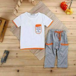 Çocuk için yeni kıyafet seti