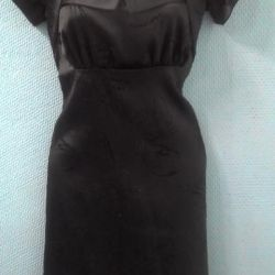 Satin dress. New.