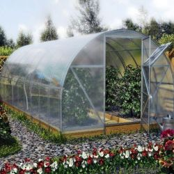 Mnem pipe for greenhouses, canopies