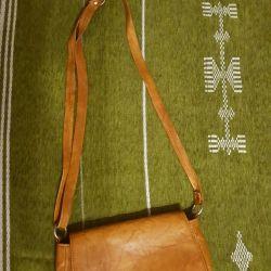 δερμάτινη τσάντα (tunisia) είναι δυνατή