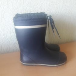 Rubber boots 34r