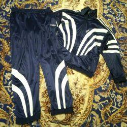 Αθλητικά κοστούμια Adidas 50-52, ΕΣΣΔ, 80-90x, ρετρό