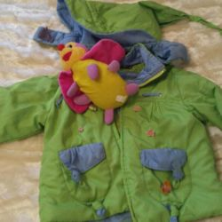 Jacket (spring-autumn) + toy as a gift