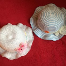 Children's hats for 4-6 years new