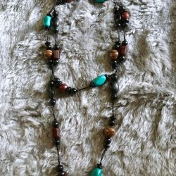 necklace, necklace, beads
