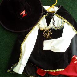 Yeni Yıl Zorro Kostüm