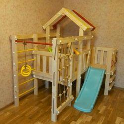 Игровой домик-чердак