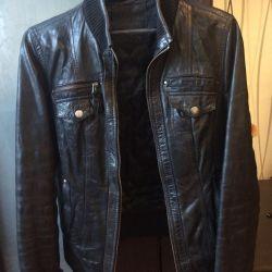 Кожаная куртка тапган