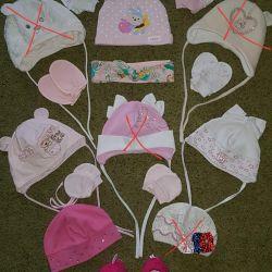 Καπέλα μάρκας για μωρά από 0 έως περίπου 6 μ