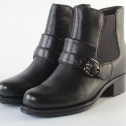 Half boots 36r-40r Genuine leather