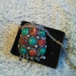 Pendant on a chain