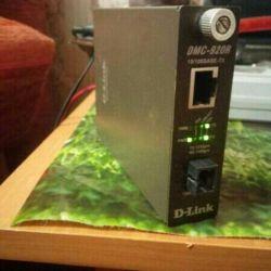 Медиаконвертер D-Link DMC-920R с блоком питанием