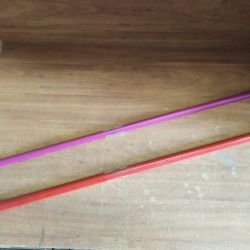 Палка гімнастична алюм. 1м D16мм ЄС