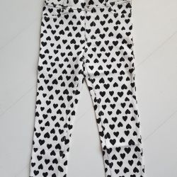 Treggins (jeggings) hm by 104 height. New.