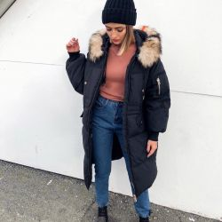 Jacket with fur