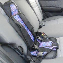 Frameless baby car seat