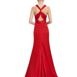 New spectacular evening dress with train 42/44