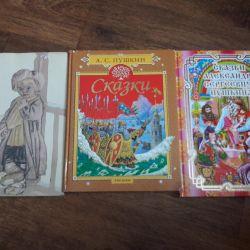 Βιβλία Πούσκιν και Τολστόι
