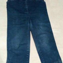 Denim breeches / capri 40 size
