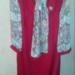 Dress with scarf p., 54,56