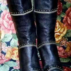 Bayan deri ayakkabı s. 36 demi-sezon