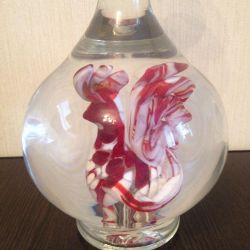 Carafe with rooster USSR