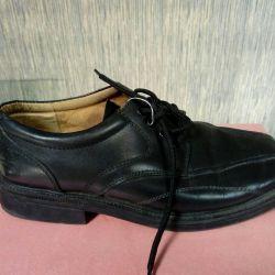 П/ботинки кожаные