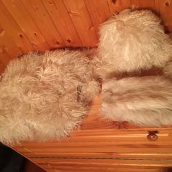 Fur set for the winter