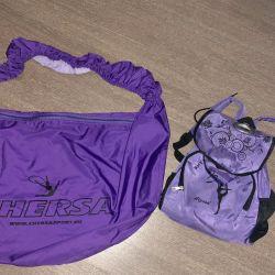 Artistik Jimnastik için sırt çantası